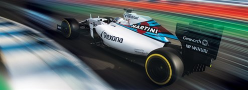 Banner _Williams F1_Monza GP_2015